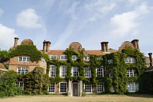 Earlham Hall at the University of East Anglia